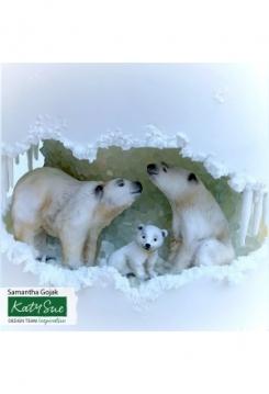 Eisbären Familie Katy Sue Mould