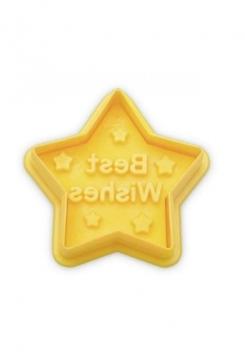 Best Wishes Stern mit Auswerfer