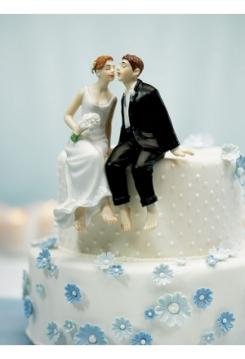 Brautpaar sitzend