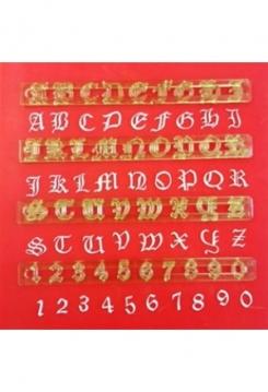 Buchstaben & Zahlen Old English
