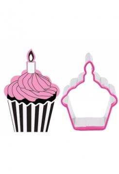 Cupcake mit Stempel