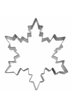 Eiskristall 6cm Edelstahl