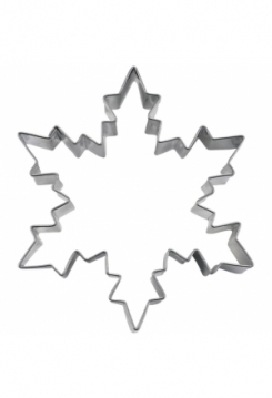 Eiskristall 7cm Edelstahl