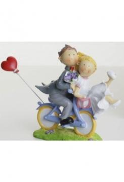 Fahrrad Hochzeitspaar