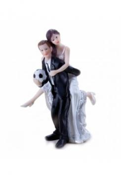 Fussballer Hochzeitspaar