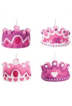 Kerzen Prinzessinen Kronen