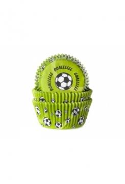 Muffin Fussball Goal grün Maxi