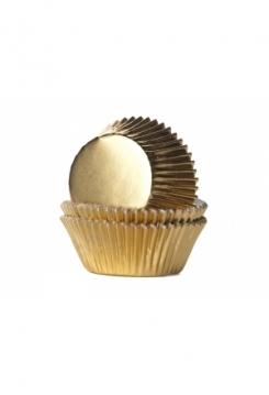 Muffin GLANZ gold Maxi 24Stk.