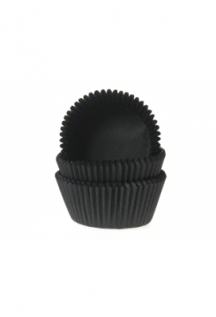 Muffin schwarz Maxi 50 Stk.