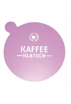 Schablone Kaffeklatsch
