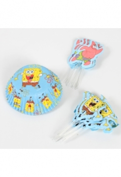 SpongeBob Muffin
