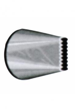 Sternbandtülle 10mm gezackt