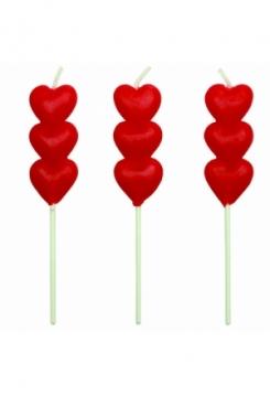 Herzli Kerzen 8 Stk