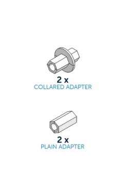CakeFrame Adaptors 4 Stück