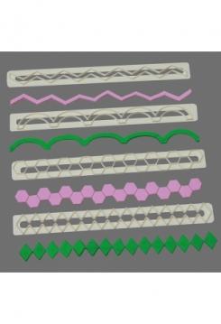 Geometrische Bänder Ausstecher