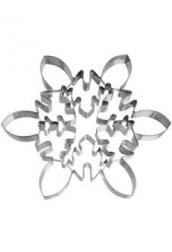 Eiskristall  XXL  21cm Edelstahl