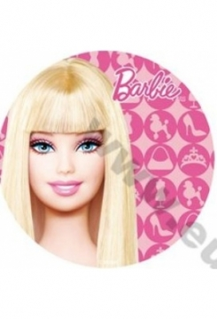 Barbie Kopf Esspapier Nr.3