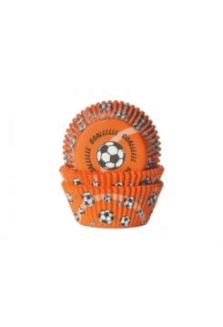 Muffin Fussball Goal orange  Maxi