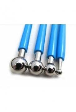 Modellierwerkzeuge blau 4-teilig