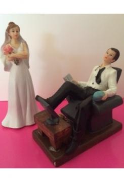 Sofamuffel mit Braut