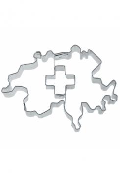 Schweiz mit Schweizerkreuz