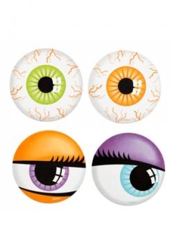 Augen Getränkeuntersetzer 12 Stk