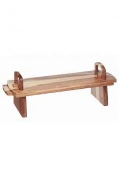 Servierplatte klein Holz 37cm
