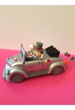 Hochzeitsauto just married