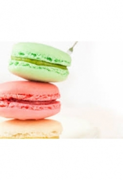 Macarons Backmatte 26x23cm