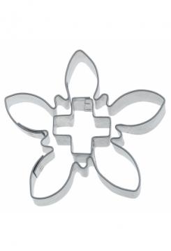 Edelweiss m. Kreuz 6,5cm
