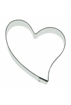 Herz 9,5cm Edelstahl