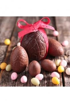 Schokoladen Ostereiform 2 Stk.