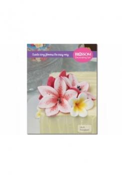 Blossom Lily & Frangipani mit Glitter