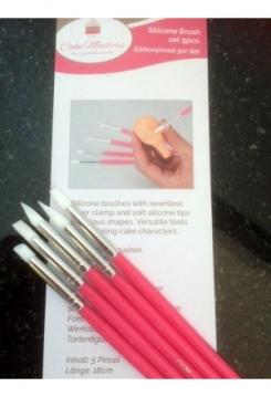 Modelierpinsel 5 teilig pink