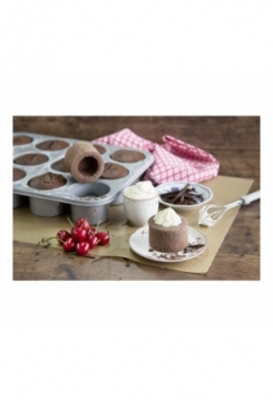 Cake Cups silber 35x27cm