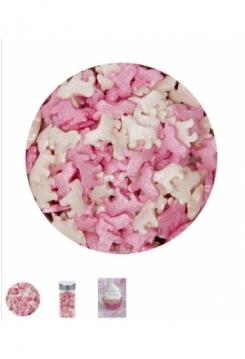 Einhorn Streudecor rosa 45g