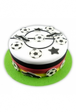 Kuchen Tattoo Fussball