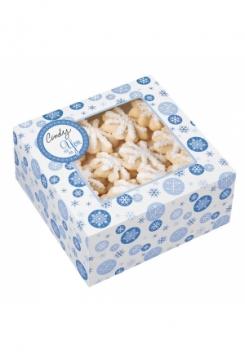 Schneeflocken Guezli Box 3Stück