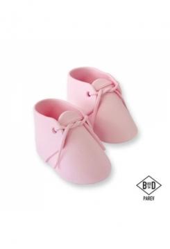 Baby Schuhe aus Zucker pink