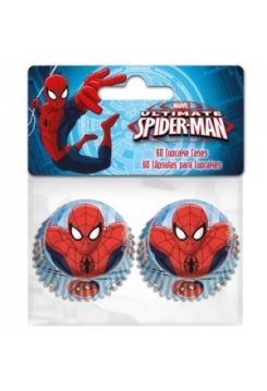 Cupcake MINI Spiderman 60 Stk.