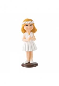 Girl mit Kerze 10cm