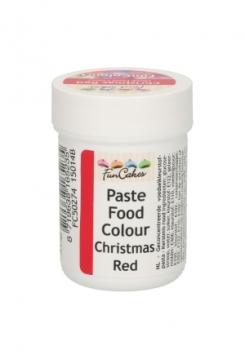 FunColours Paste weihnachtsrot 30g
