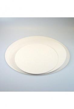 Tortenplatten 22cm fettabweisend rund 5Stk.