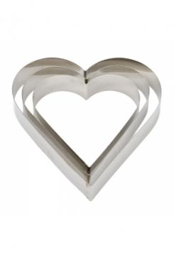 Herz Tortenring 14x4,5cm