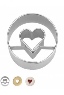 Herz in Ring MINI 3cm