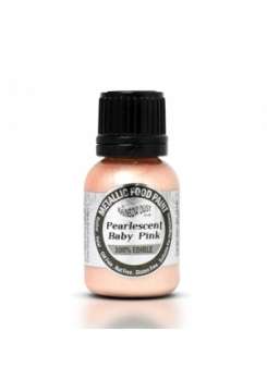 Metallic Pearlescent Baby Pink 25ml
