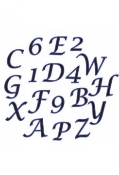 Buchstaben& Zahlen Schreibsch.