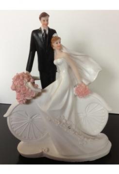 Brautpaar Fahrrad