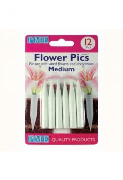 Blumen Halter med. 12 Stück