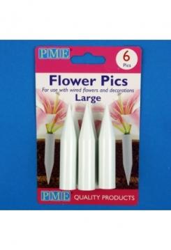 Blumen Halter large 6 Stück
